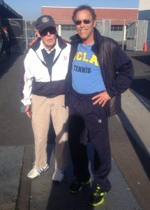 Steve with Legendary Coach John Bassett